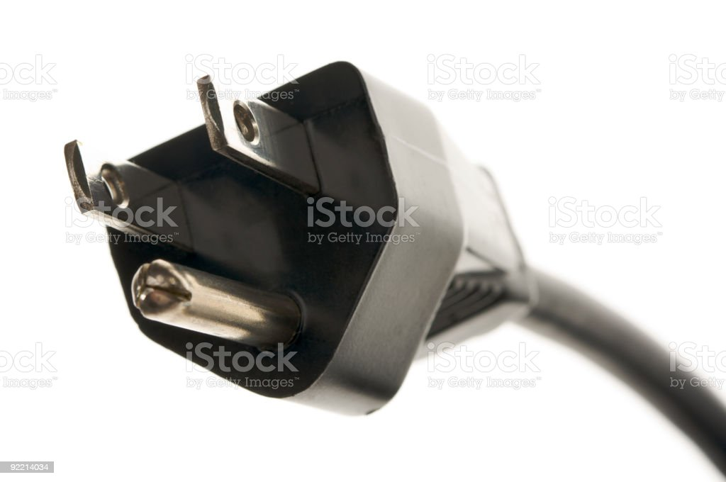 Electric Power Cable royalty-free stock photo