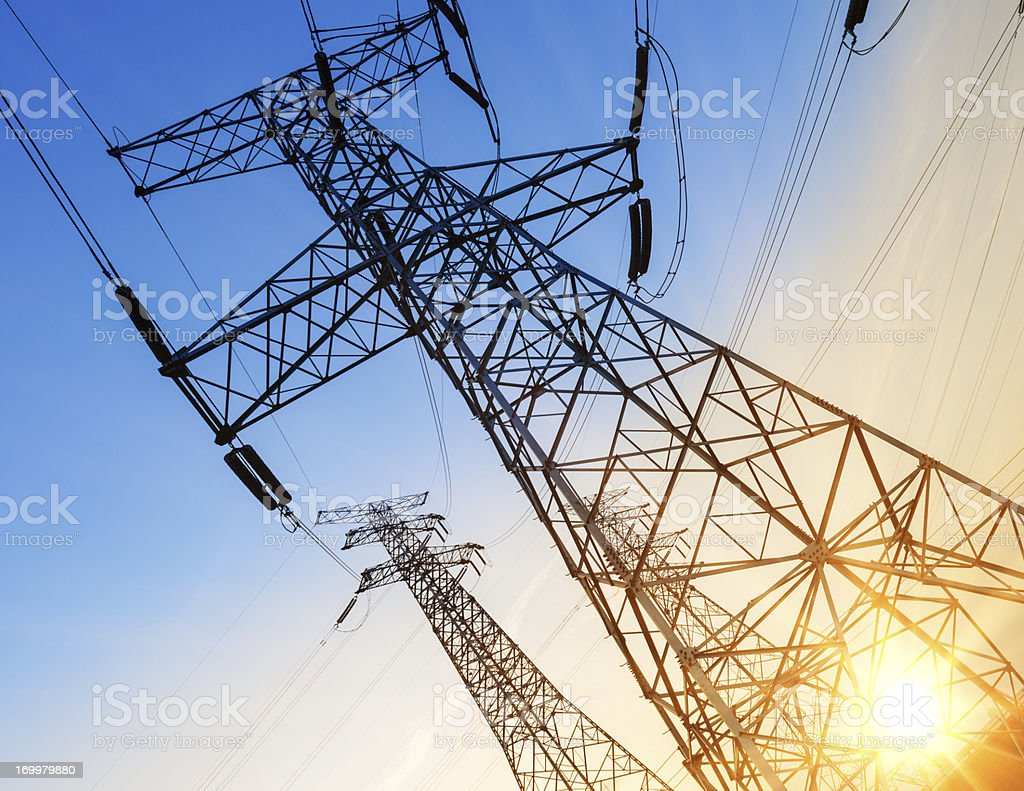 electric power royalty-free stock photo