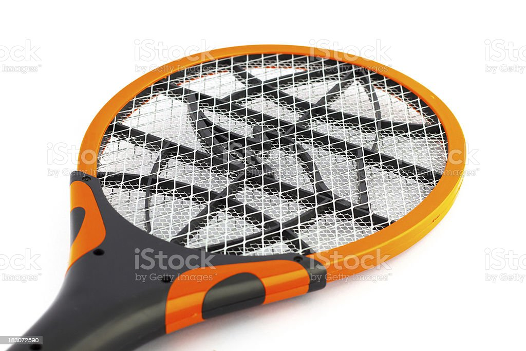Electric shock mosquito racket royalty-free stock photo