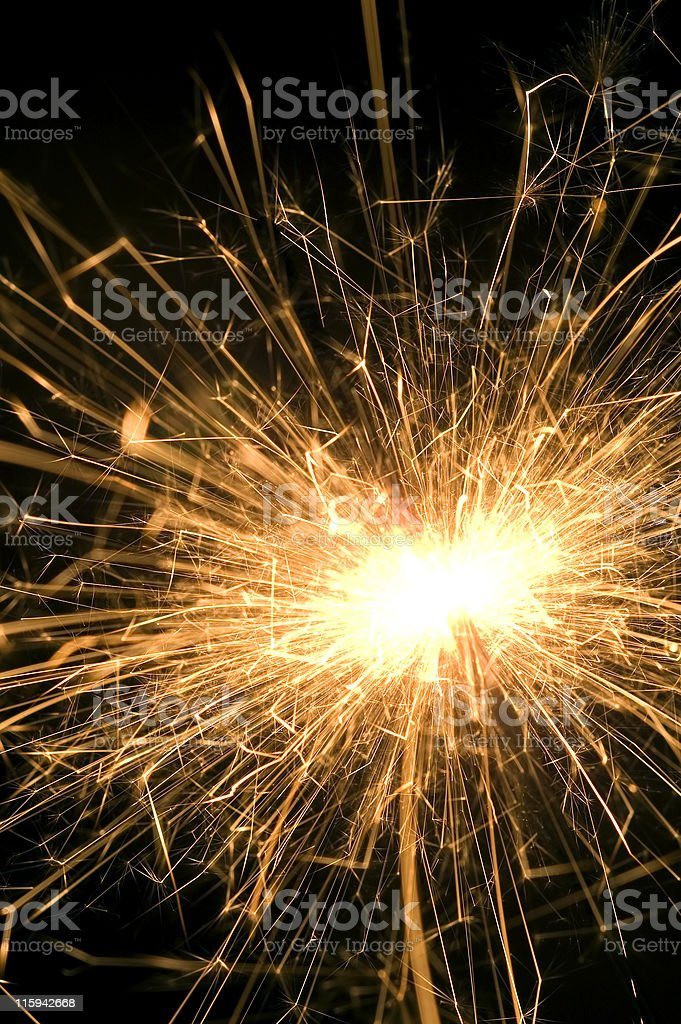 Electric Sparks royalty-free stock photo