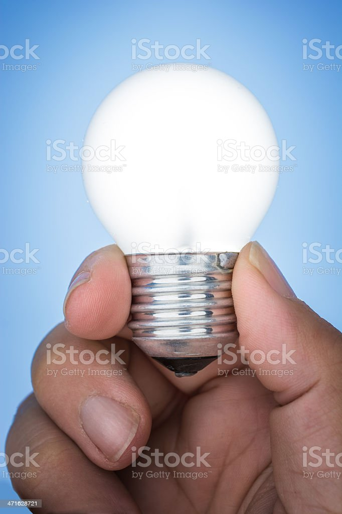 Electric sun stock photo