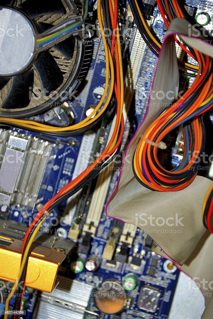 electric system stock photo