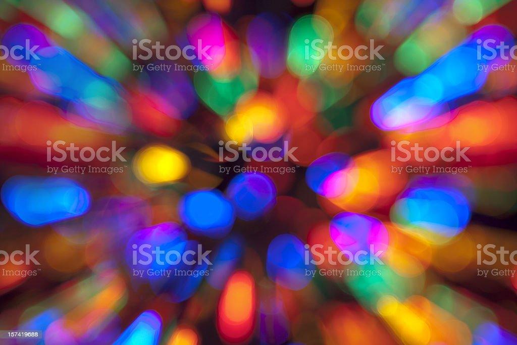 Electric Tie-Dye (XXL) royalty-free stock photo
