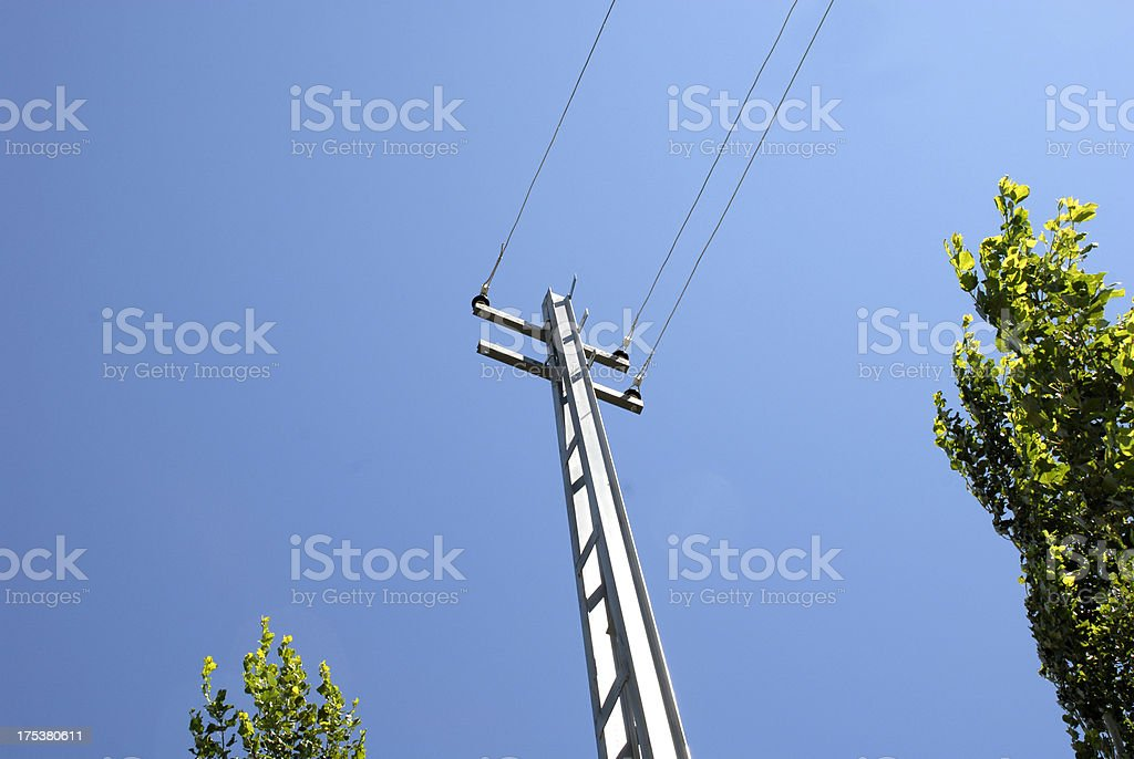 Electric Transformer (Click for more) royalty-free stock photo
