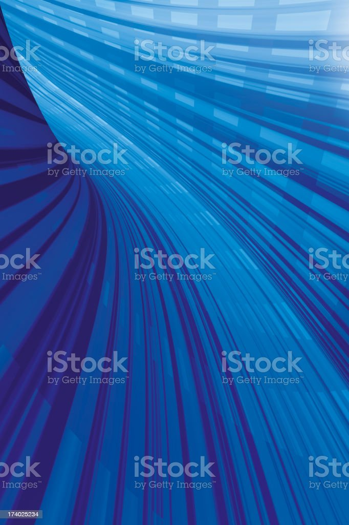 Electric Tunnel royalty-free stock photo