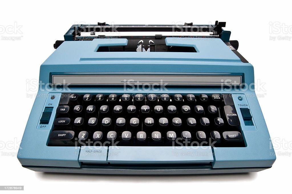 Electric Typewriter stock photo