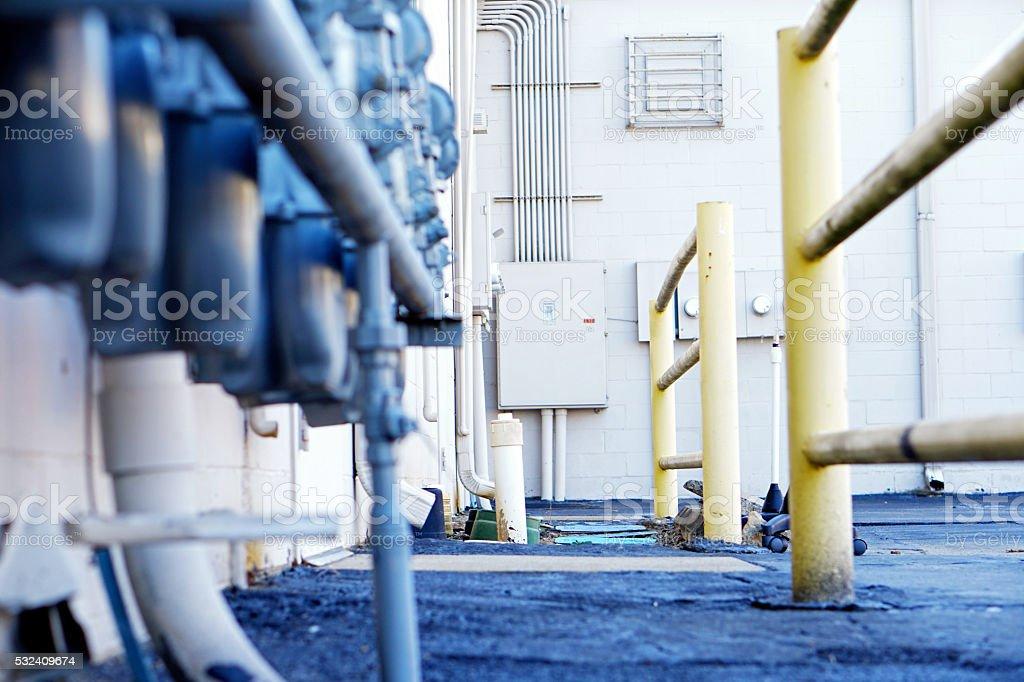 Electrical Box stock photo