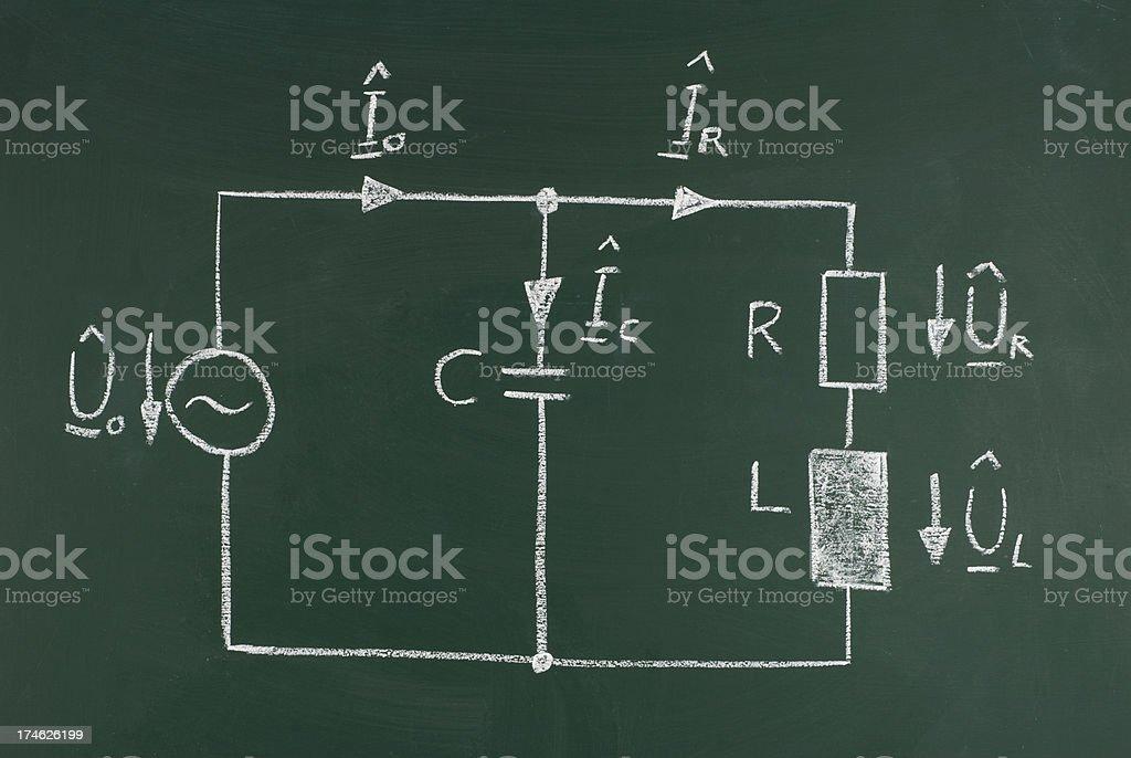 electrical circuitry stock photo