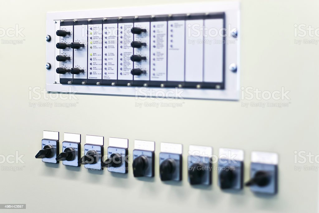 Electrical Control Unit stock photo
