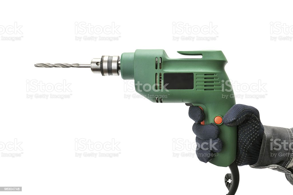 electrical drill royalty-free stock photo