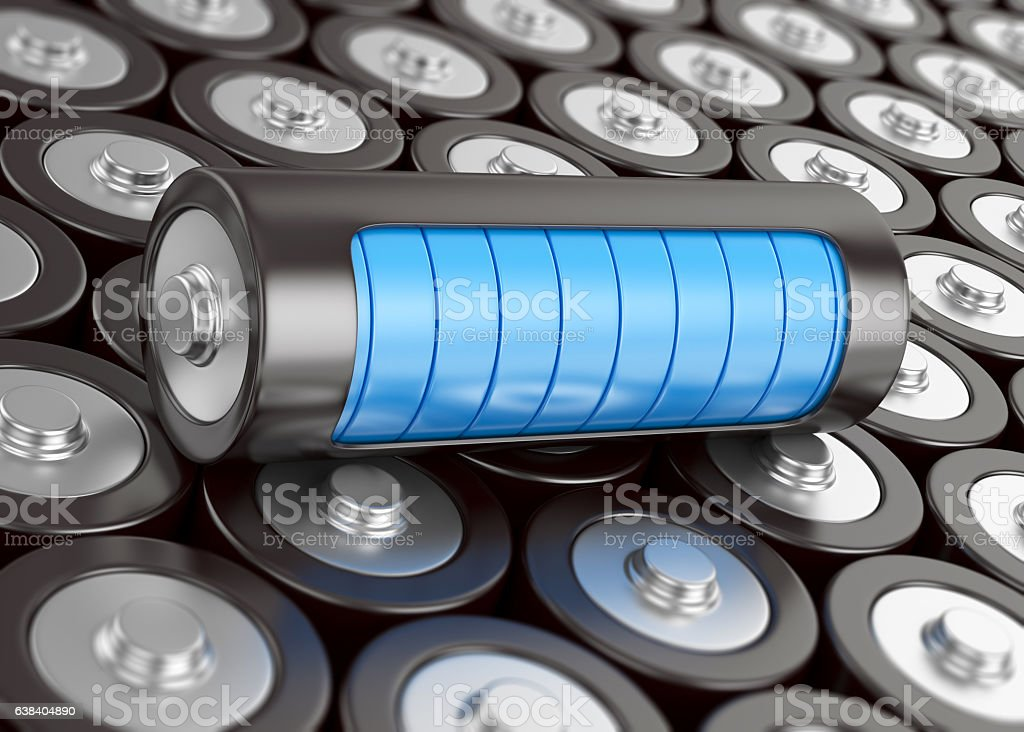 Electrical energy and power stock photo