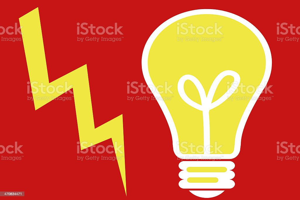 Electrical energy royalty-free stock photo