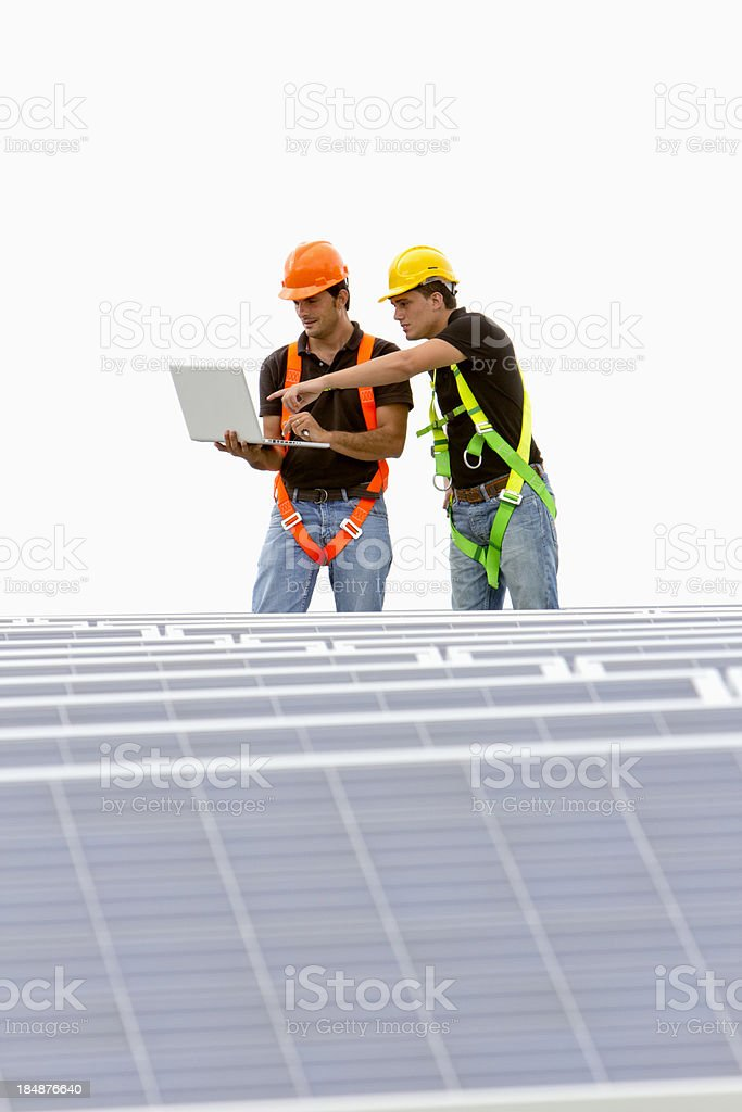 Electrical engineers royalty-free stock photo