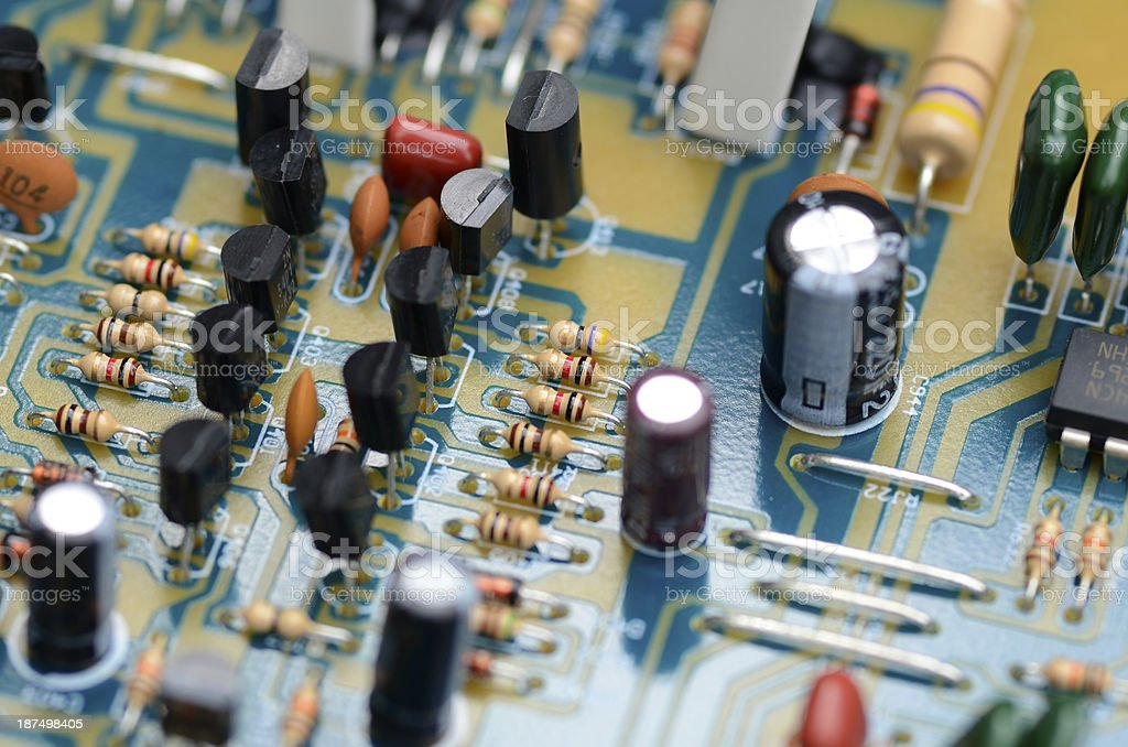 Electrical Equipment. royalty-free stock photo