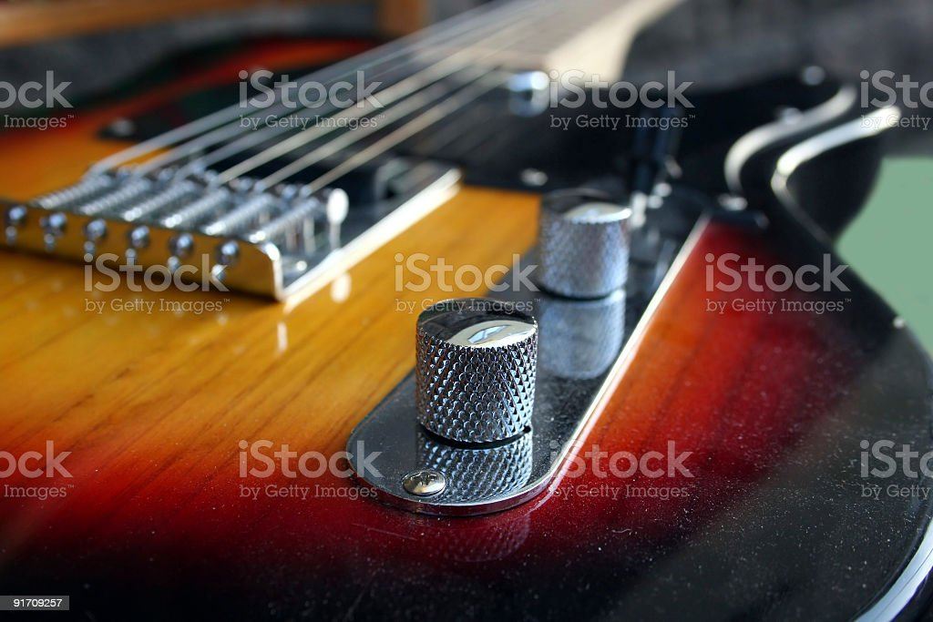 Electrical Guitar stock photo