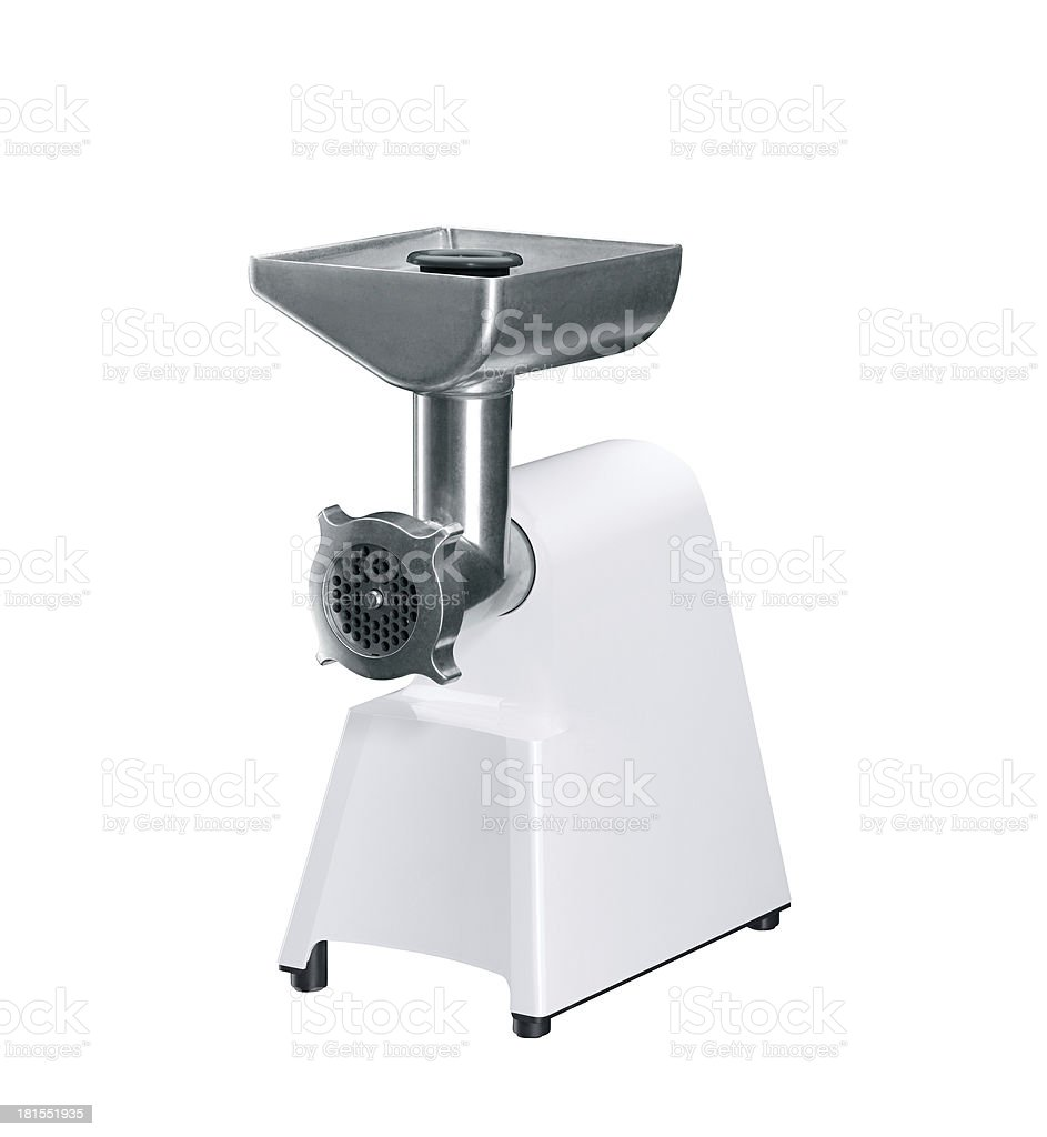 electrical meat grinder royalty-free stock photo