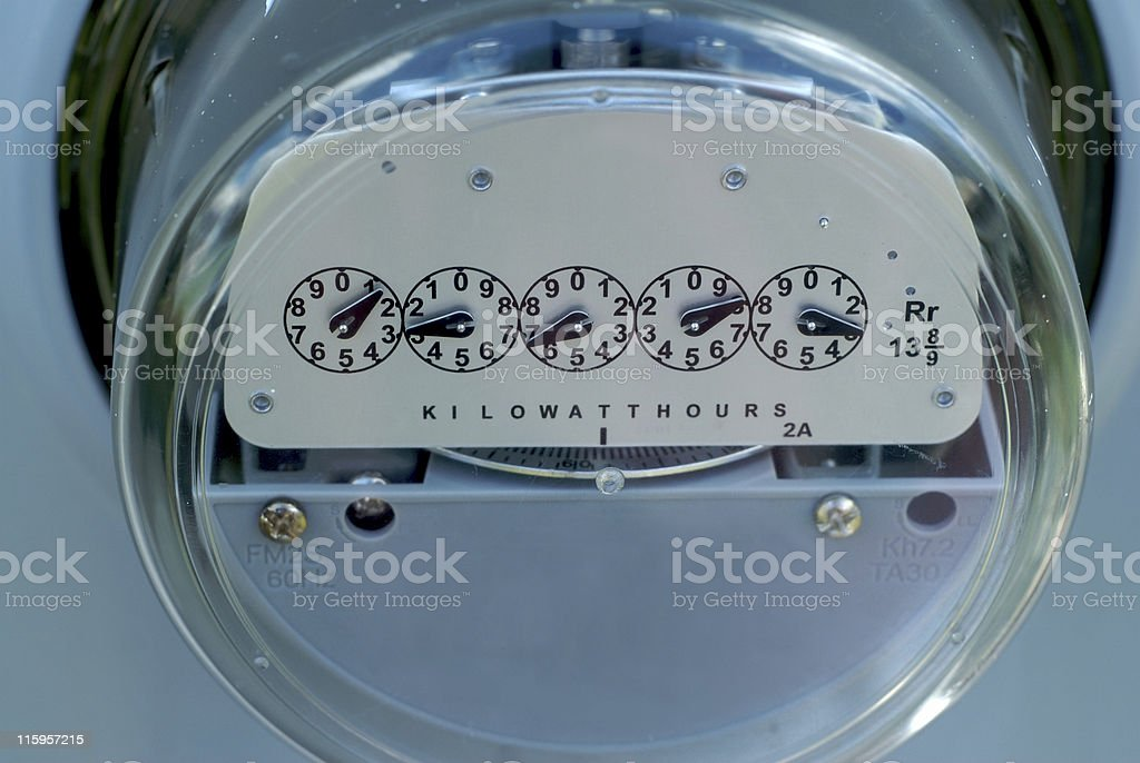 Electrical Meter royalty-free stock photo