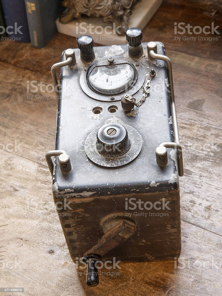 Electrical Metering Device stock photo