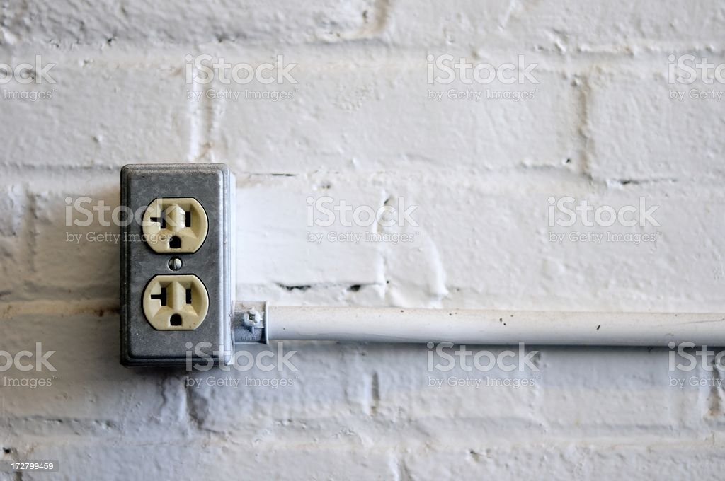 electrical outlet royalty-free stock photo