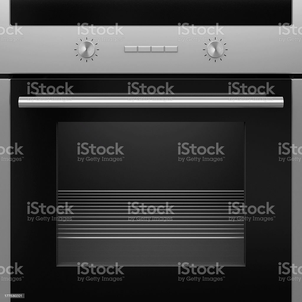 Electrical oven. royalty-free stock photo