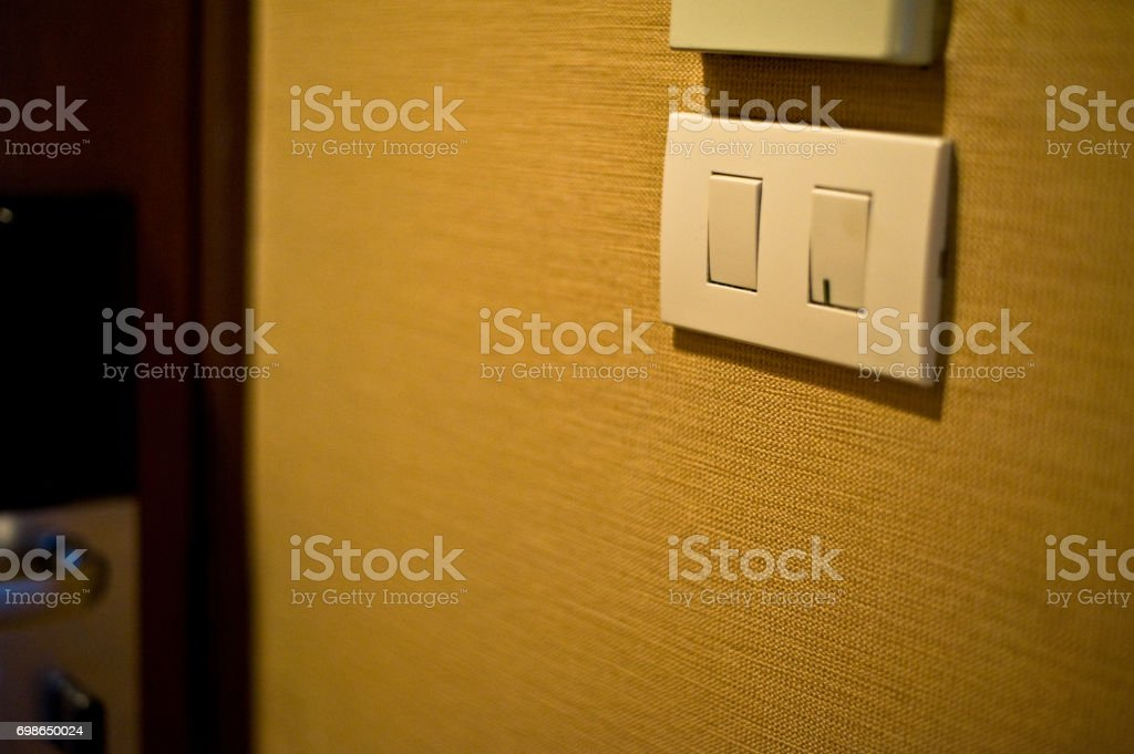 electrical plug is the technology for power supply in home use 220 volt stock photo