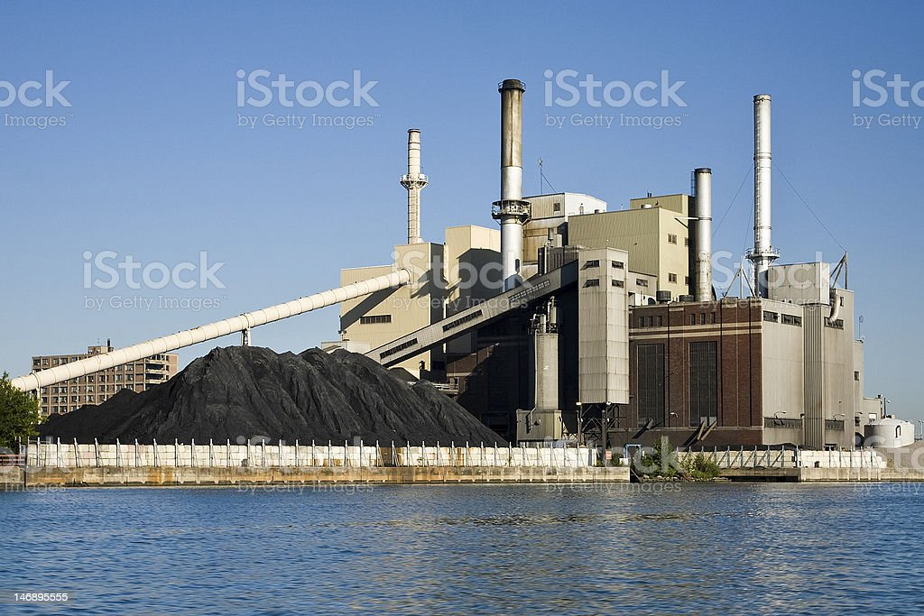 Electrical Power Plant stock photo