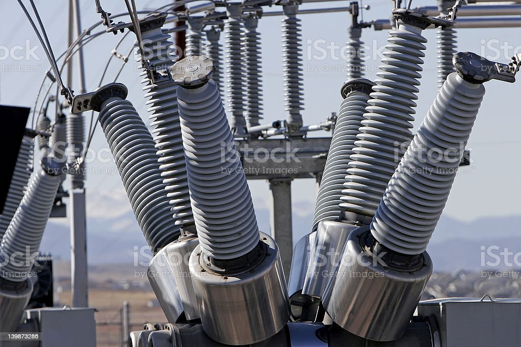 Electrical Power Station 3 stock photo