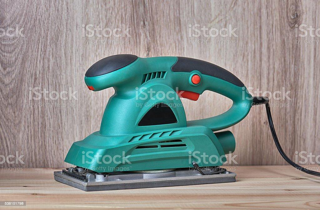 Electrical Sanding Machine stock photo