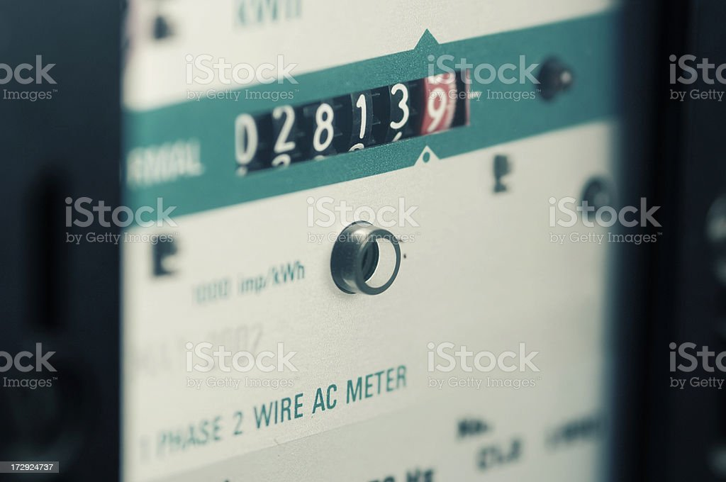 electrical series stock photo