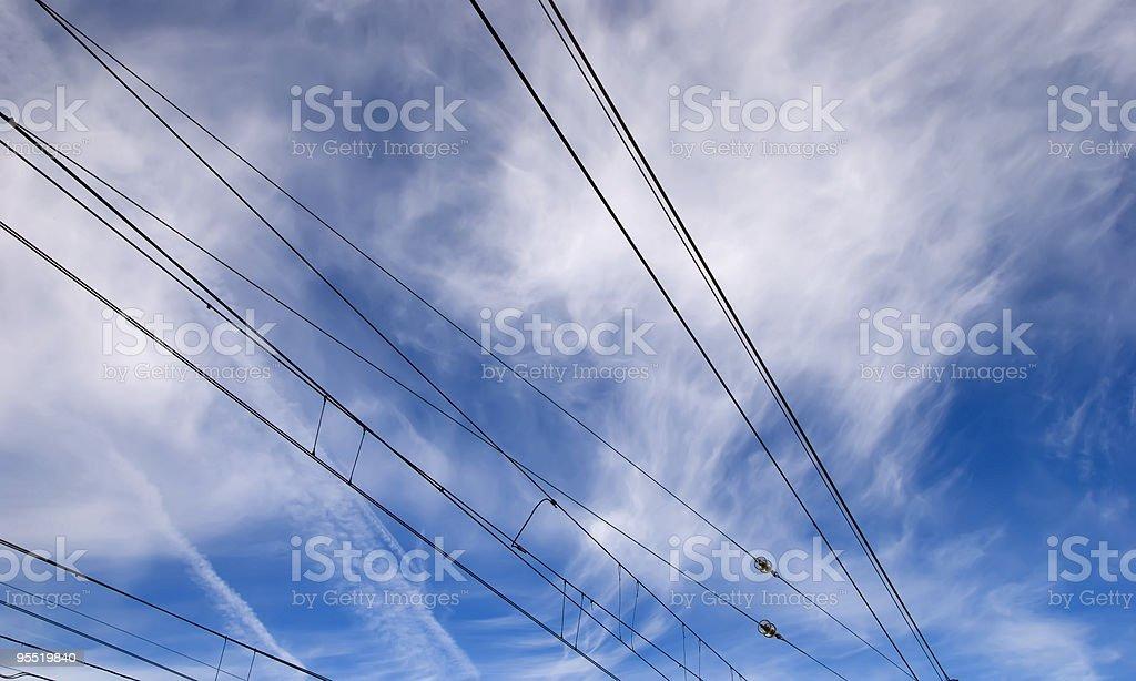 Cielo eléctrico - foto de stock