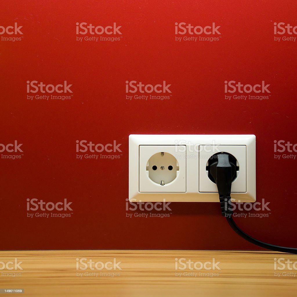 electrical socket royalty-free stock photo