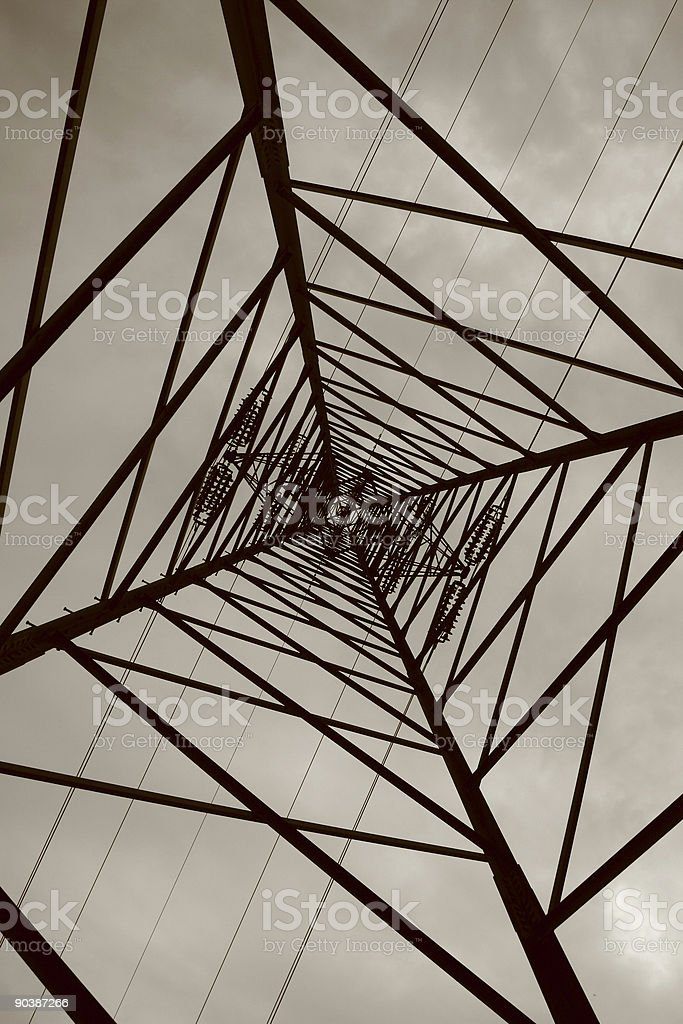 Electrical symmetry royalty-free stock photo