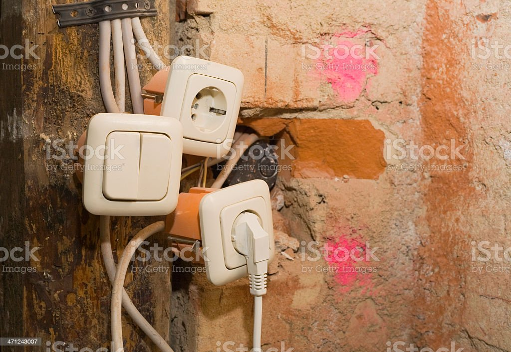electrical system royalty-free stock photo