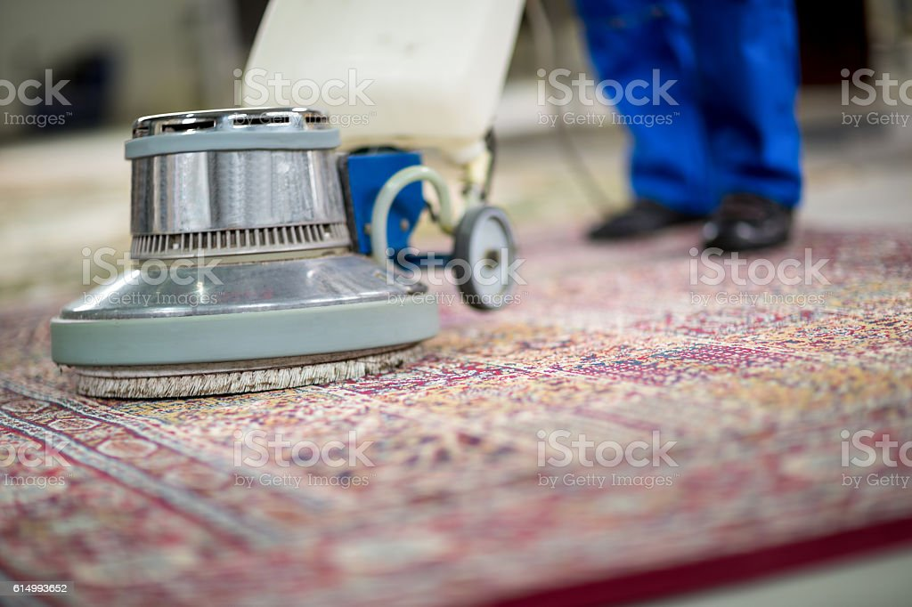Electrical vacuum cleaner stock photo