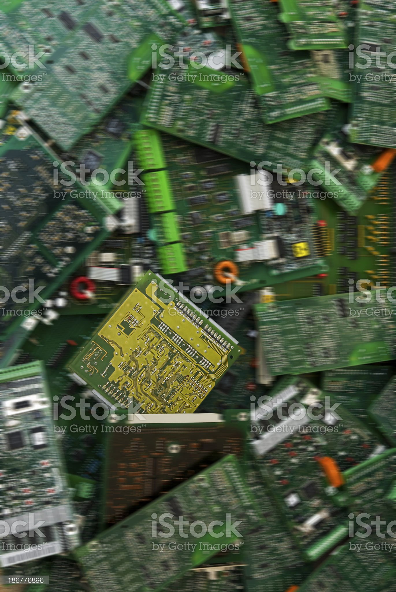 electrical waste royalty-free stock photo