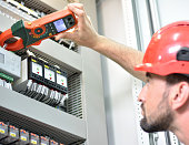 Electrician Testing for Amperage