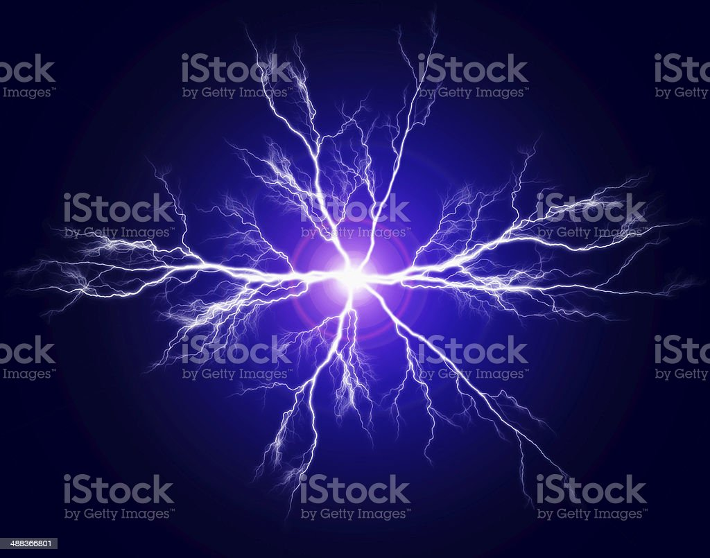 Electricity and Power stock photo