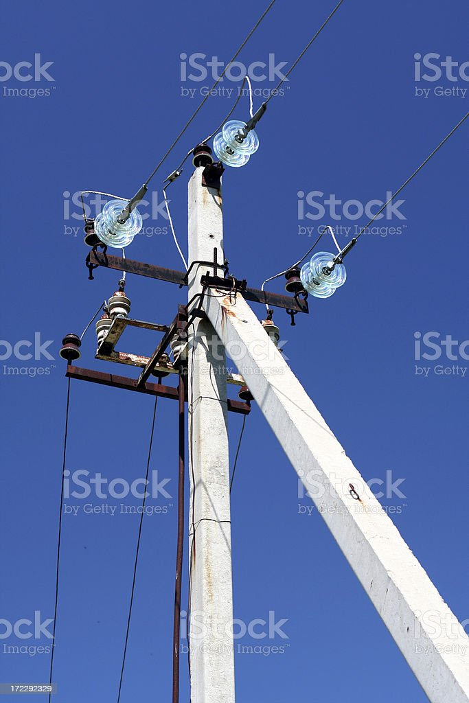 electricity, network royalty-free stock photo