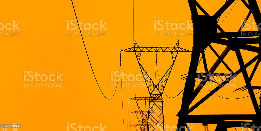 Electricity stock photo