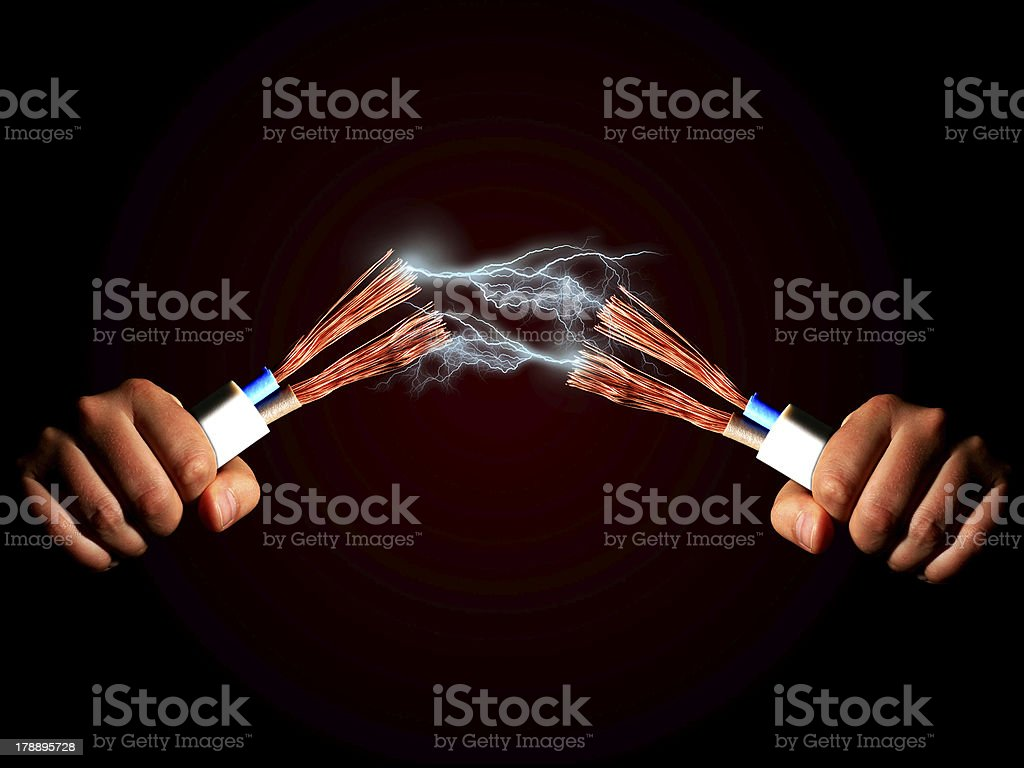 Electricity. royalty-free stock photo