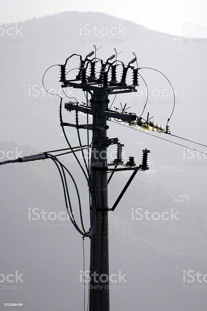elettricit? stock photo