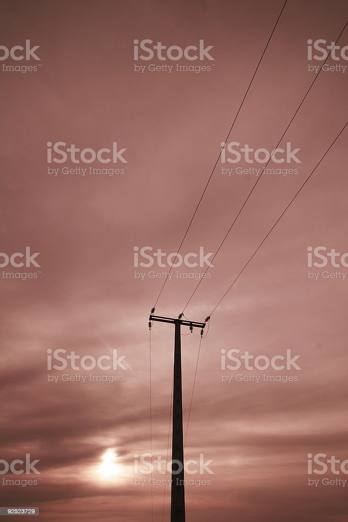electricity royalty-free stock photo