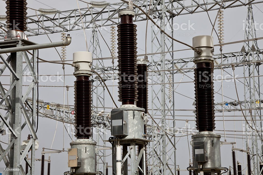 Electricity production center royalty-free stock photo