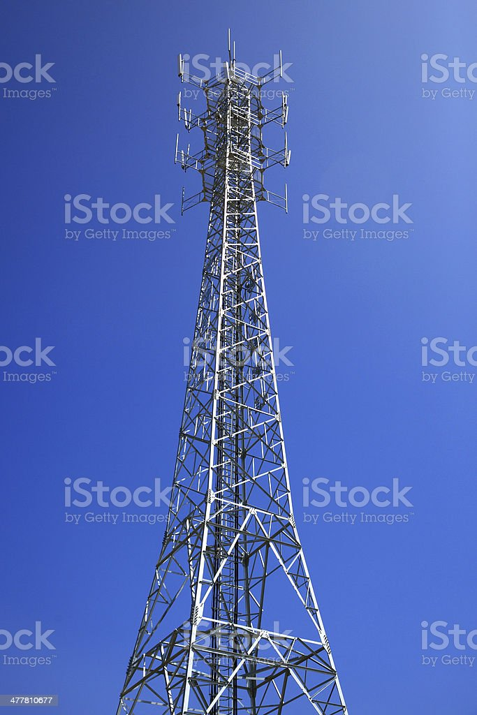 Electricity pylon royalty-free stock photo