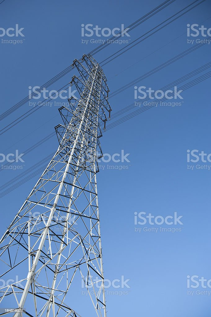 Electricity Wire stock photo