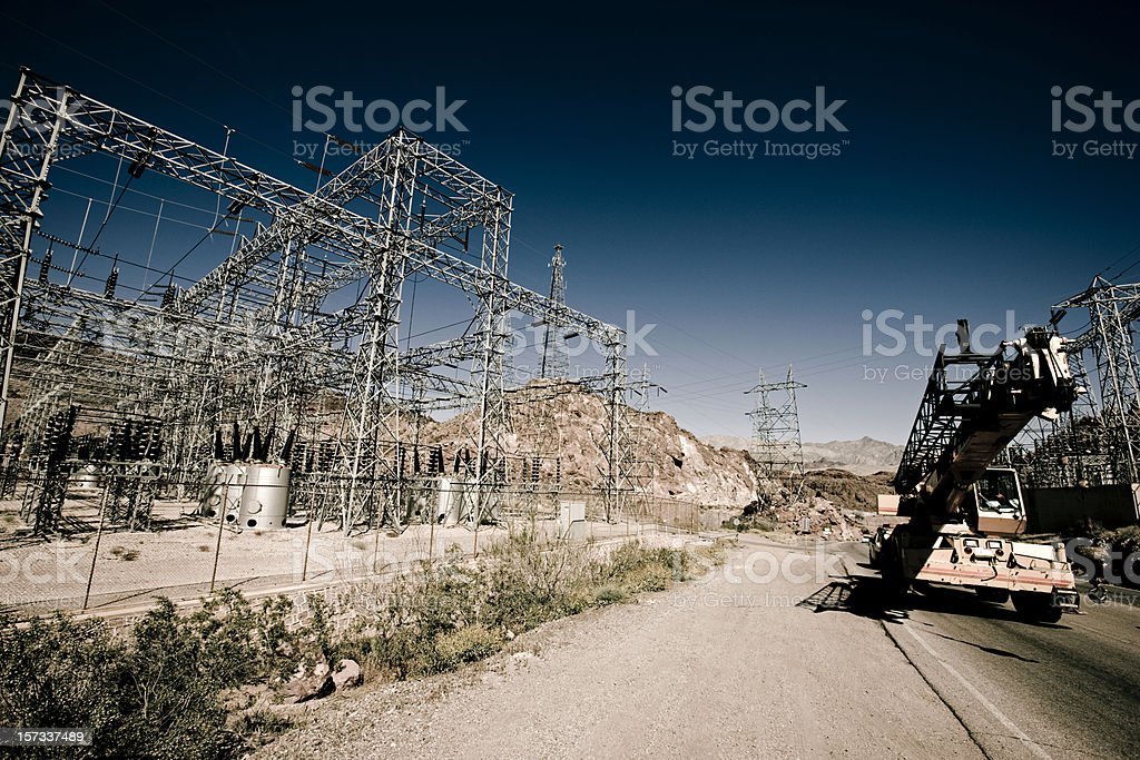 Electrictity Industry Series V royalty-free stock photo
