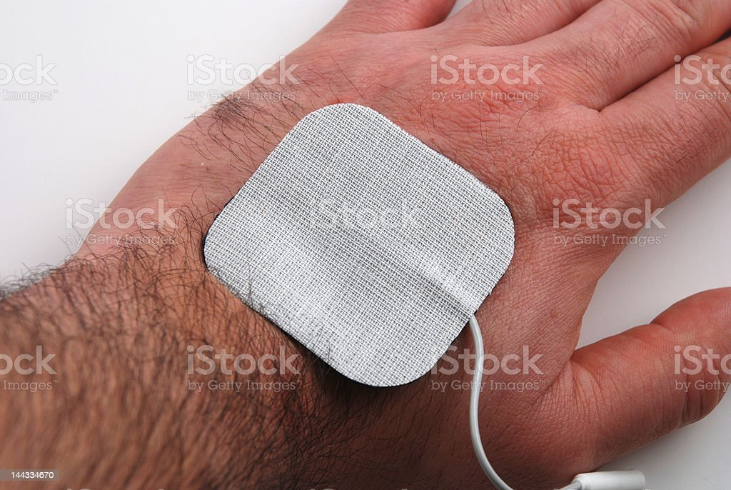 Electrodes royalty-free stock photo