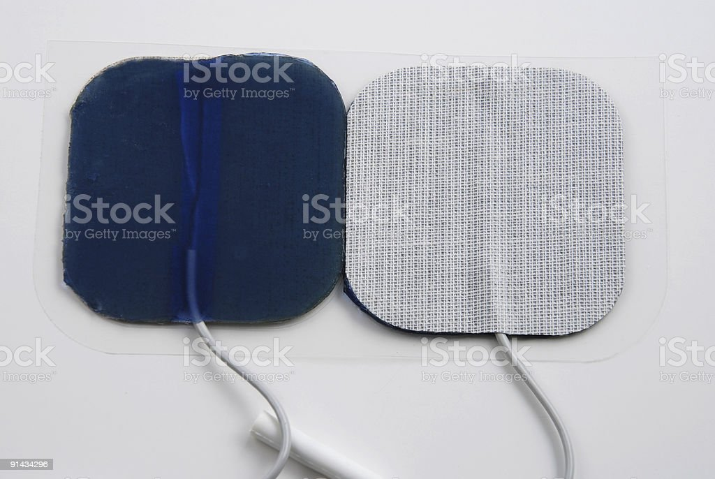 Electrodes stock photo