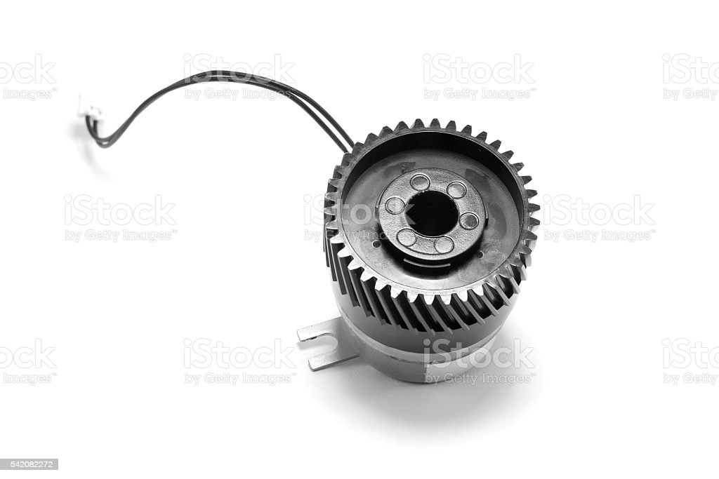 Electromagnetic clutch stock photo