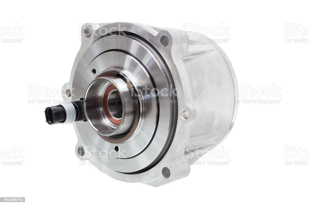 electromagnetic clutch to connect the differential stock photo
